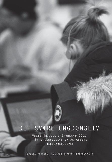 Det svære ungDomsliv - Statens Institut for Folkesundhed
