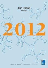 Årsrapport 2012 - Alm. Brand
