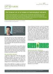 Det kræver sin øl at skabe et bæredygtigt netværk - Dansk ...
