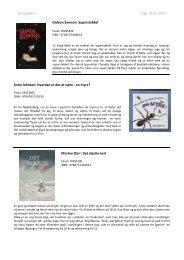 Skolepakke+ Uge 16-18, Beskrivelser - Biblioteksmedier as