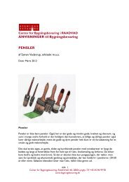 ANVISNINGER til Bygningsbevaring PENSLER - Center for ...