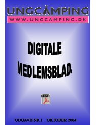 Ungcamping.dk Clubben