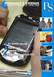 PS-04-01_NYT DESIGN.indd - Aalborg Universitetshospital