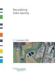 Revurdering Daka Løsning - Miljøstyrelsen