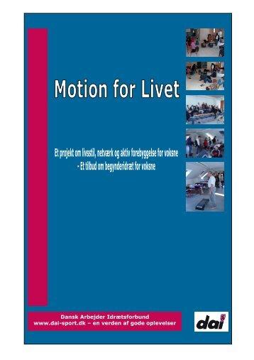 Evalueringsrapport 2008 - Dansk Arbejder Idrætsforbund