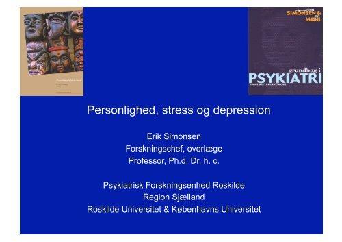 Personlighed, stress og depression - Region Sjælland