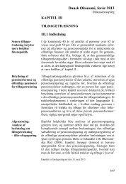 Dansk Økonomi, forår 2013, Kapitel 3 Tilbagetrækning