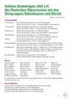 DAV Memmigen Jahresschrift 2013 - Page 7