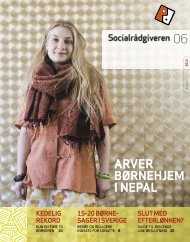 Socialrådgiveren nr. 6-2012 - Dansk Socialrådgiverforening