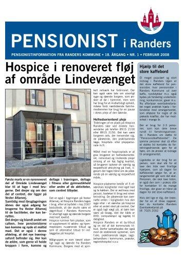Hospice i renoveret fløj af område Lindevænget - Randers Kommune