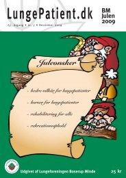 Juleønsker - LungePatient.dk