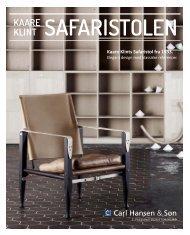 SAFARIStolen kAARe klInt - Carl Hansen & Søn