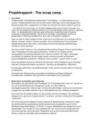 Se Projektrapport - Dansk Folkeoplysnings Samråd