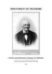 Christen og Poul Barfoed