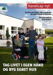 tag livet i egen hånd og byg egnet hus - Dansk Handicap Forbund