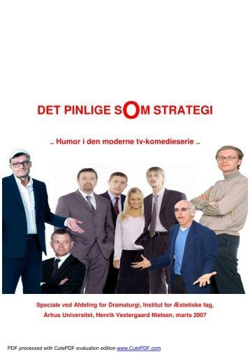DET PINLIGE SOM STRATEGI - Akademisk Opgavebank