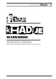 Khadije og kærligheden - Salaam DK