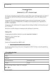 Hent ansøgningsskema - Brødrene E., S. & A. Larsens Legat