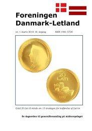 Blad nr. 1 - 2010, 18. årgang - Foreningen Danmark - Letland