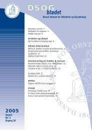 Nr. 4 - 17. august 2005 - DSOG