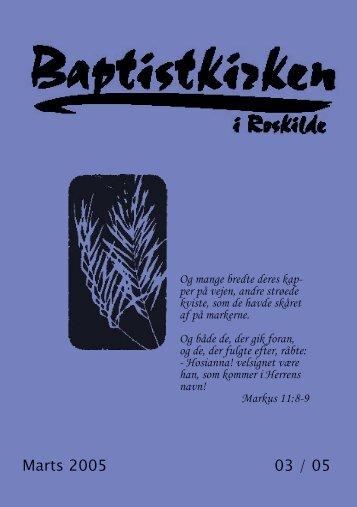 Marts 2005 03 / 05 - Roskilde Baptistkirke