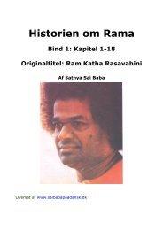 Historien om Rama, bind 1 - Sai Baba på Dansk