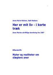 Anne Marie Nielsen, Født Madsen - janning.dk