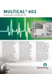 MULTICAL® 602 - Kamstrup