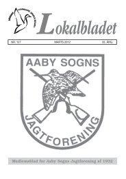 Marts 2012 - Aaby Sogns jagtforening