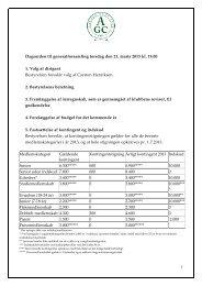 1 Dagsorden til generalforsamling torsdag den 21. marts 2013 kl ...
