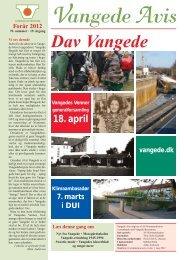 Vangede Avis nr. 70 - forår 2012 - Vangede.dk