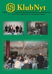 KlubNyt - Sønderjyllands Golfklub