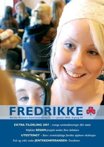 1-2008 - Norske Kvinners Sanitetsforening