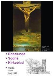 • Boeslunde • Sogns • Kirkeblad - Boeslunde Kirke