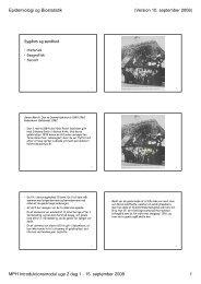 Sygdom og sundhed: historisk, geografisk og socialt perspektiv
