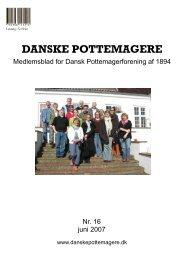 medlemsblad nr. 16 (Skrivebeskyttet) - Pottemagere   Keramiker