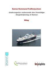 Undersøgelse vedrørende den fremtidige ... - Samsø Kommune