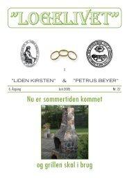 """logelivet"""" - Loge nr. 41 Petrus Beyer, 7700 Thisted"""