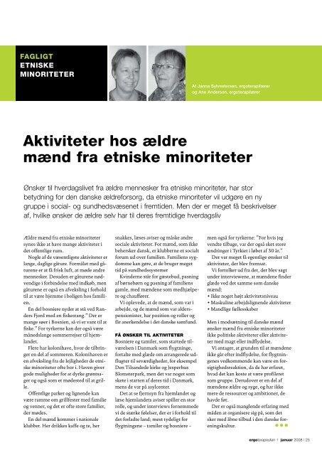 [pdf] Aktiviteter hos ældre mænd fra etniske minoriteter