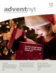 Adventnyt 2011-12.indd - Til forsiden - Syvende Dags Adventistkirken