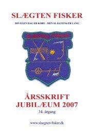 Årsskrift 2007 - årgang 34 .pdf - Slægten fisker