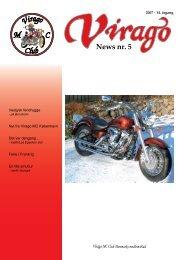 News nr. 5 - Virago MC Tur Klub
