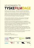 tyskefilmdage - Grand Teatret - Page 3