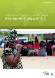 Årsrapport 2012 - NGO Forum