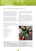 Årsrapport 2012 - NGO Forum - Page 2