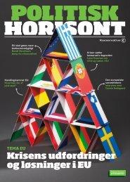 Politisk Horisont nr. 4 2012 - Konservative Folkeparti