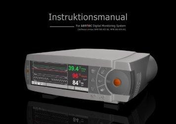 Instruktionsmanual - SenTec AG