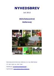 Tryk her for at læse vores nyhedsbrev fra juli 2012(åbnes i PDF)