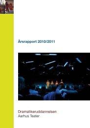 + Årsberetning 2010-2011 - Velkommen til uddannelserne ved ...