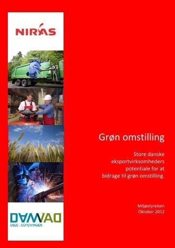 Rapport om Grøn Omstilling